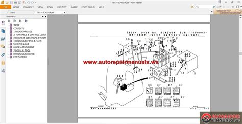 takeuchi excavator tb014 parts manual auto repair manual heavy equipment