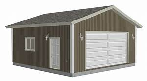 Zekaria 24x24 garage plans diy for 24x24 garage material list