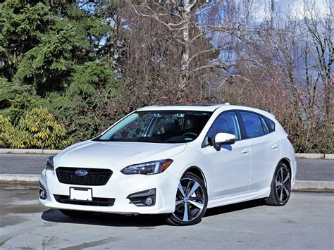 Subaru Impreza Sport by 2017 Subaru Impreza Sport Tech 5 Door Road Test