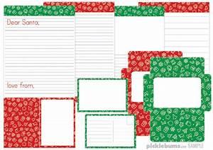 letter to santa set picklebums shop With letter to santa set