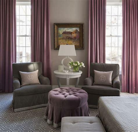 chambre gris et violet 1001 idées pour la décoration d 39 une chambre gris et violet