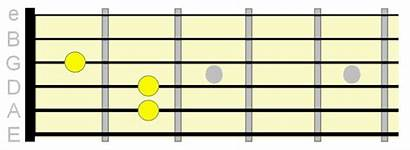 Barre Chord Chords Guitar Shape Fret Fretboard