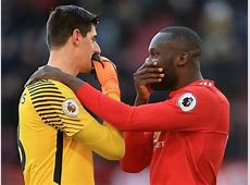 Manchester United vs Chelsea Courtois Warns Lukaku Ahead