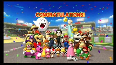 Mario Kart Wii Ending And Credits P17 Youtube