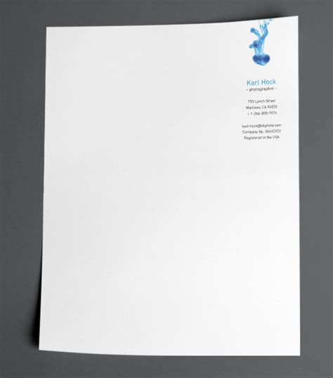 browse letterhead design templates