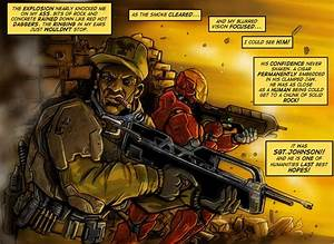 Sergeant Johnso... Halo Sergeant Johnson Quotes