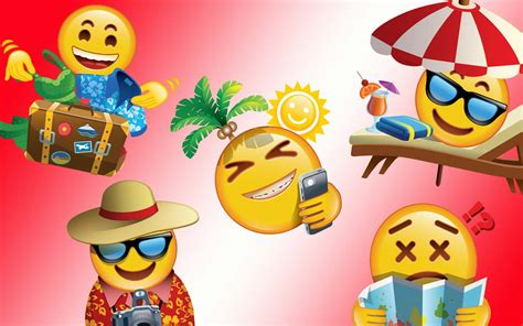 emoji travelers   travel leisure