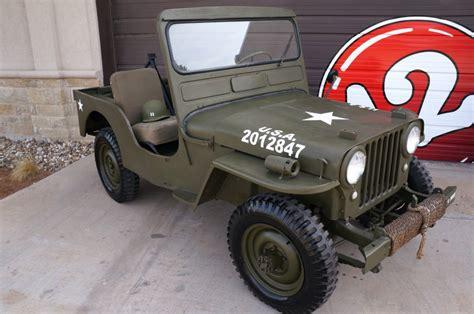 jeep willys cja  sale