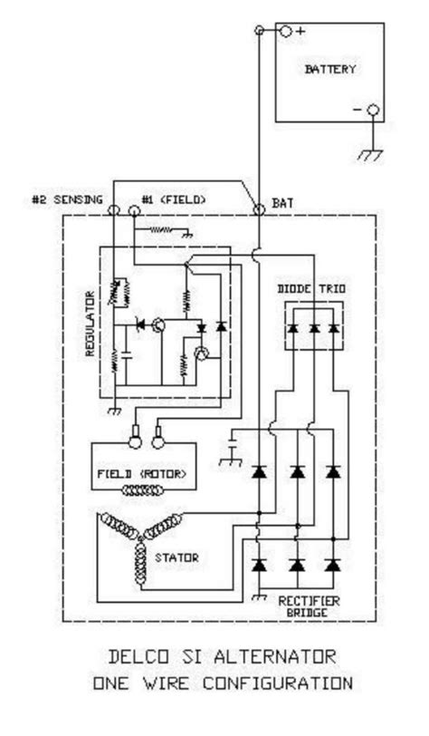 Pictures Wiring Diagram For Delco Alternator Wire