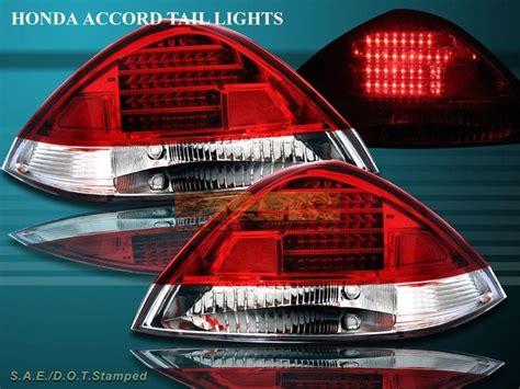 2004 honda accord tail light buy 2003 2004 2005 honda accord 2 doors coupe red led tail