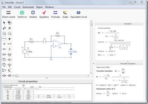 Free Circuit Diagram Software Create Diagrams
