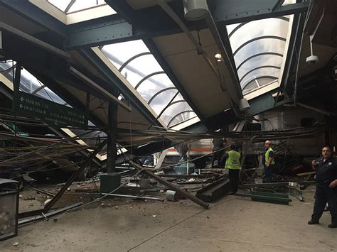Commuter Train Crashes Into Station In New Jersey « Cbs