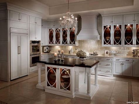 glass front kitchen cabinets an alternative to wood glass front cabinets kitchen 3781
