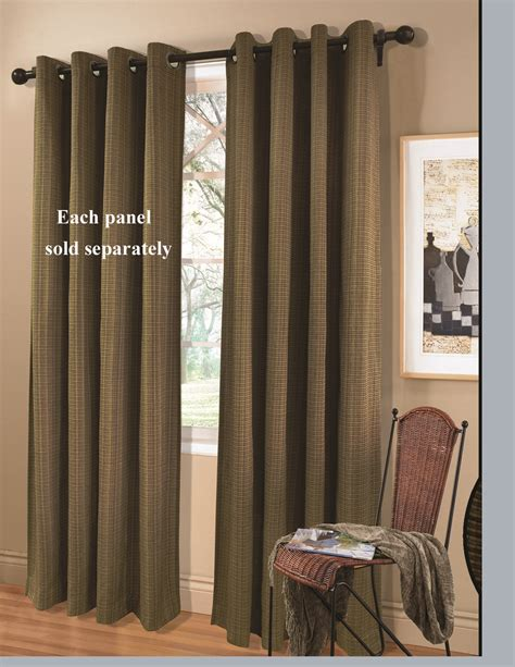 grommet curtain panels livingston grommet top curtain panels