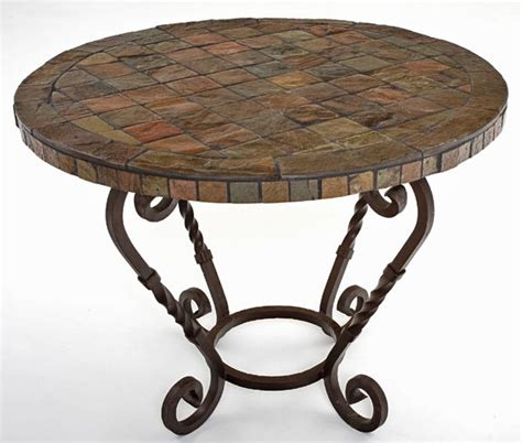 slate dining table for the home