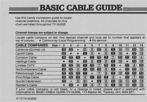 Vintage Channel Guide From Oshawa
