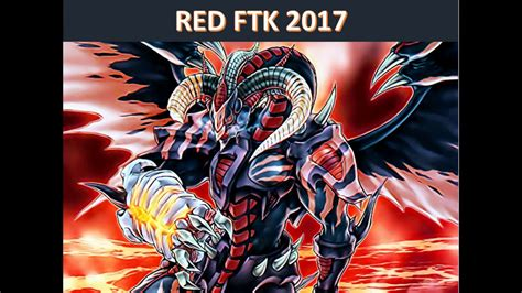 yu gi oh scarlight red dragon archfiend ftk 2017 deck