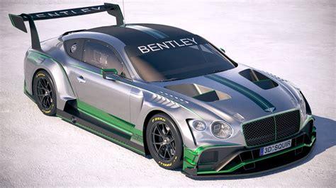 Bentley Race Car by Bentley Continental Gt3 Racecar 2018