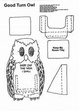 Brownie Activities Rainbow Promise Brownies Guides Craft Owl Girlguiding Thinking Meeting sketch template