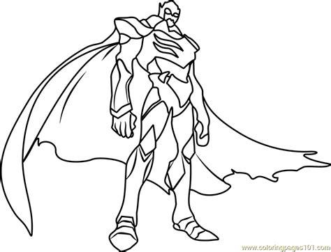 zarkon coloring page  voltron legendary defender