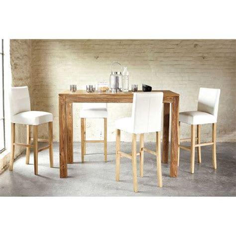 table haute de cuisine 17 best ideas about table haute bois on table