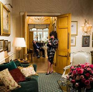 Only in HELLO! Joan Collins opens the doors to her London