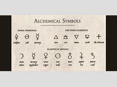 14 símbolos utilizados en la Alquimia y su significado