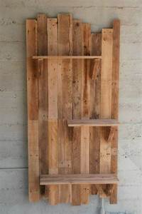 Wonderful DIY Wooden Pallet Shelf Ideas Ideas with Pallets
