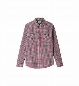 chemise a petits carreaux lee cooper en bleu pour homme With chemise petit carreaux