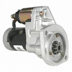 Starter Motor For Nissan Navara D21 Engine Td27 2 7l