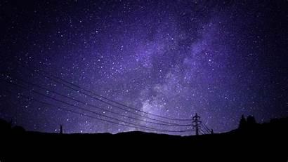 Galaxy Sky Stars Night Star Purple Wallpapers