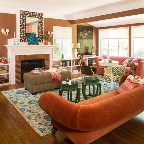 terracotta sofa living room living room color schemes
