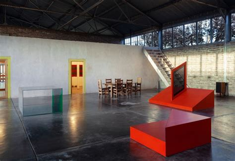 enter  iconic spaces  donald judd architectural digest