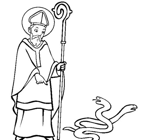 A cultural and religious festival held every year there cannot be a perfect st patrick's day coloring page for you. Saint Patrick coloring pages | Saint Patrick