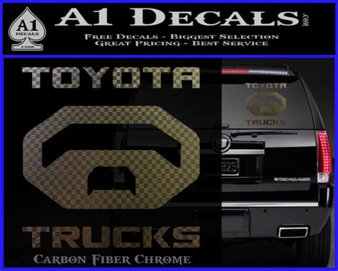 Toyota Trucks Decal Sticker » A1 Decals images