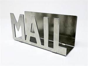 metal mail letter holder rustic organizer mail With metal letter organizer