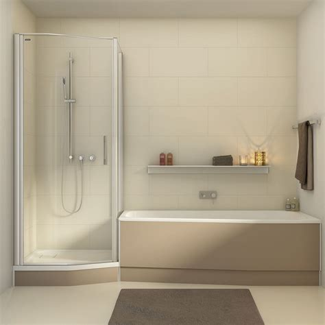 vasca da bagno in doccia vasca doccia combinata la soluzione perfetta tutto in uno