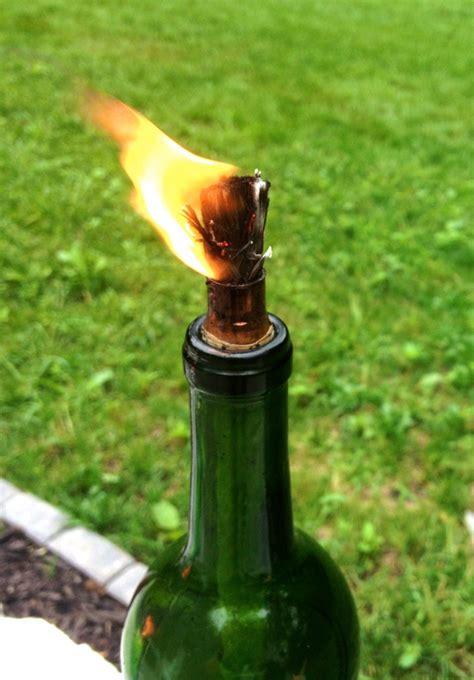 citronella diy candles wine bottle candle keep bugs away bottles oil jar mason craft light read wick pesty tiki