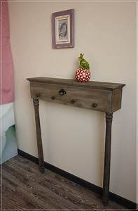 Schmale Möbel Flur : schmale wandkonsole tannia vintage tisch wandtisch konsole ~ Michelbontemps.com Haus und Dekorationen