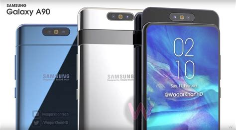 samsung galaxy a90 its sliding and rotating is revealed in network usa