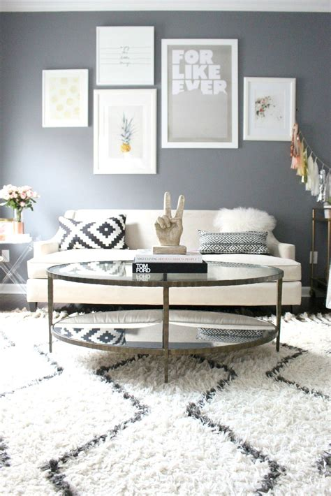 Living Room Layout Pictures by Living Room Tour Feather Your Nest