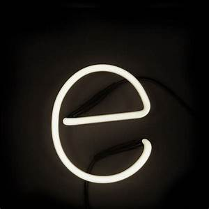 seletti neon wall light letter e iwoot With neon wall letters