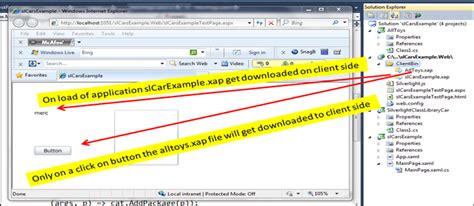 silverlight with mef for dynamic downloading of xap files