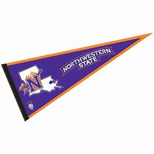 NSU Demons Pennant your Northwestern State University Felt ...