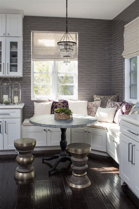breakfast nook bench ideas   cheer   mornings