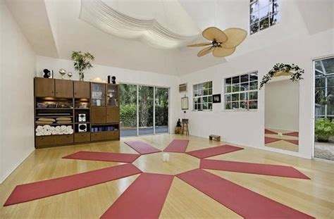Designing An At Home Yoga Studio  Art And Decors