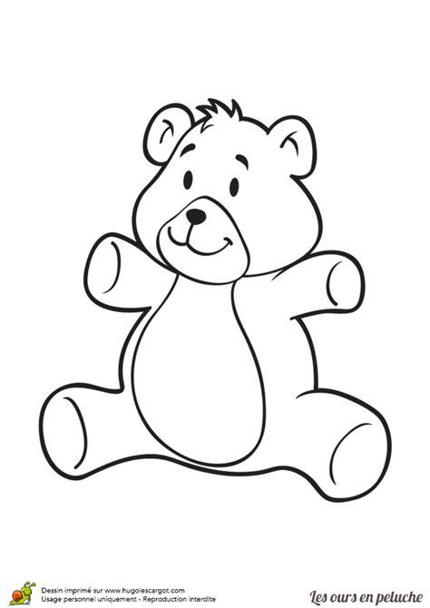 jeu de cuisine gateau coloriage gentil ours en peluche sur hugolescargot com