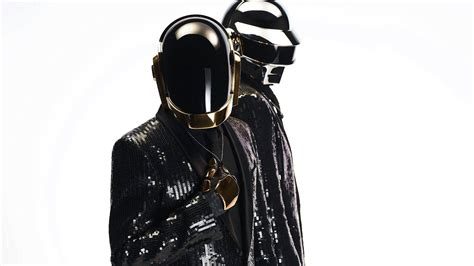 Music daft punk french helmets dj white background ...