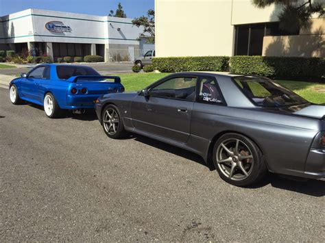 1993 and 1994 nissan skyline gt r colors production of