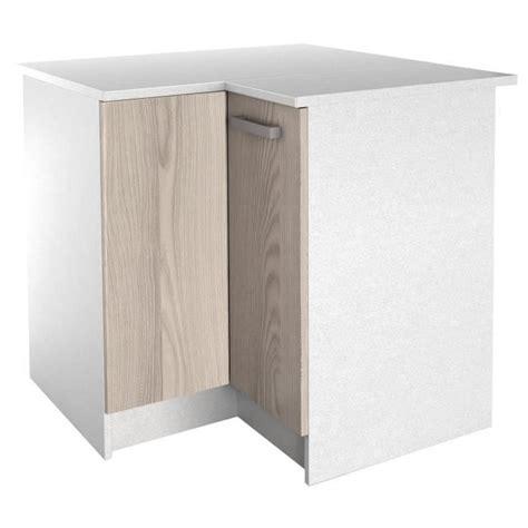 meuble d angle cuisine but start meuble de cuisine bas d 39 angle avec plan de travail l